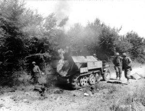 SdKfz 250 wreckage